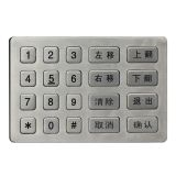 Metal atm keypad mechanical code lock keypad