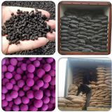 activated alumina impregnated 8% KMnO4 for waste air gas purify