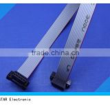 2.54mm pitch Manufacture customized computer electrical IDC flat ribbon cable female connector