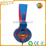 Novelty fashion fancy wholesale cartoon batman headsets for electronics shows