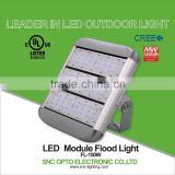 2016 newest design UL LED flood light with 5 years warranty outdoor module floodlight led tunnel light