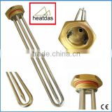 "2016 stainless steel 1-1/4"" screw-in element for immersion heater with temperature control"