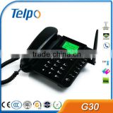 Telpo 3g desktop phone/ GSM Fixed wireless phone,sim card gsm fixed wireless desktop phone                                                                         Quality Choice