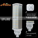 11w g24 led pl light replacing 26w cfl,pl c 2p led, smd plc led lamp for cfl replacement
