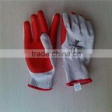 rubber coated cotton glove/latex gloves malaysia price