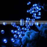 Hot Selling 22m 200 LED Solar Christmas String Light for Outdoor, Gardens, Homes, Christmas Party Blue