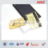 MDC1456 Cheap custom shape magnetic metal barcode card gift metal card