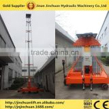 telescopic cylinder hydraulic lift ,electric telescopic lift,lift used 220v &380v available