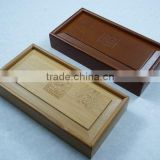 bamboo wine packing box/wine gift box