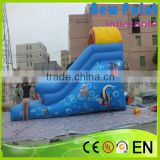 New Point 0.55mm Pvc Giant Inflatable Slide for kids ,China pvc Trampoline 0.55mm Pvc Giant Inflatable Slide on sale