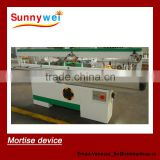 wood working tenon mortising machine