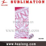 China Supplier Manufacturer Sublimation Microfiber Promotional wholesale Yoga Golf Beach Bath Towel