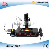 YIHUA 1000B 3 Functions in 1 Infrared Bga Rework Station SMD Hot Air Gun+75W Soldering Irons+540W Preheating Station