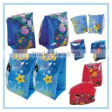 PVC inflatable swimming armband for kids, fishing printing armbands                                                                         Quality Choice