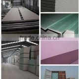 manufacture competitive price gypsum board/gypsum plaster board/drywall board with good quality