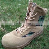 desert color sand colour leather 9.5inch good quality DELTA tactical boots