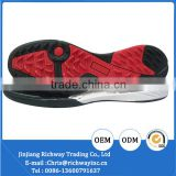 New hot selling style shoe outsole with eva and rubber material