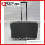 Black Aluminium Tool Chest Organizer Carrying Case With Trolley Foam For Cases