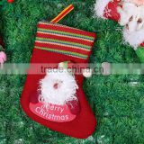 Wholesale Lovely Merry Christmas Santa Claus Stocking christmas gift set                                                                                                         Supplier's Choice
