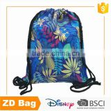 Fashion Style High Quality Cotton Candy Packaging Bag Drawstring Shoe Bag