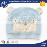 Custom style good quality cute baby boy winter hats