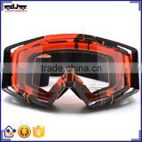 BJ-MG-020 Top Quality Adult Singer Clear Lens Off Road Custom Motocross Goggles