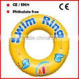 druable PVC swim rings wholesale life saving rings in pool for kids