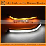 High Quality New Arrival LED DRL Strip for Hyundai Elantra LED Eyebrow for Hyundai Elantra Daytime Running light