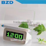New Design Promotion Multi-functional Music Digital LED Message Board Alarm Clock with Countdown & Countup Functions