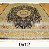 classic design handmade silk rug hand knotted persian silk carpets for home hotel villa and prayers silk rug
