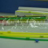 small slide cutter, stick-on type cling film slide cutter, for cutting cling film food wrap, plastic film, stretch film