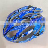 CE approved adult riding in-mold racing bike helmet
