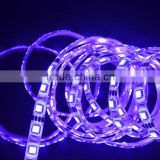 2016 high lumen 60led/m 50000 hours life outdoor christmas decoration thin bare-board pcb DC 12V SMD 5050 LED Strip light