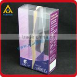 wholesale plastic box with printing folding box for travel adapter customized plastic folding box