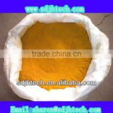 light yellow poly aluminium chloride (pac) for wast water treatment