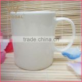 promotion porcelain coffee mug with C handle                                                                         Quality Choice