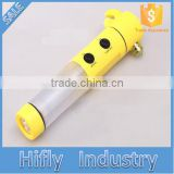 HF-LH02 Hot 4 In 1 Car Safety Hammer Emergency Hammer Hand Tool Escape Belt Cutter LED Flashlight