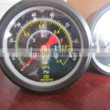 high Sales Volume Air Filled Pressure Gauge used on test bench from HAIYU