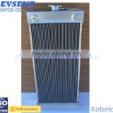 Aluminum radiator/oil cooler/Intercooler for Kobelco SK60-8