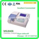 MSLBA06 Cheap semi-auto chemistry analyze