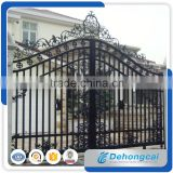 Manufacturer 2016 simple modern steel gate design/philippines gates and fences/metal gate
