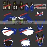 2014 new rockstar 3M sticker/ grahic pit bike parts &dirt bike parts&mini moto parts for yamaha motorcylce (DST-0003)