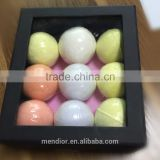 Mendior Natural Bath Bombs gift set OEM brand 9pcs/box