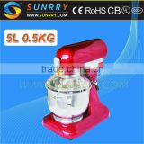 stand mixer dough mixing 0.5-0.8kg flour multifunction stand mixer Bowl Capacity 5.5L mini stand mixer for CE                                                                         Quality Choice