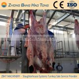 cattle hide puller machine with stainless steel dehiding chain                                                                                                         Supplier's Choice