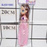 cheap wholesale plastic dolls lovely pink dress barbiee girl doll