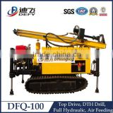 DFQ-100 Top Hammer Shallow Well Drilling Rig for Rocky Mountains