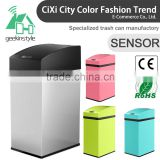 7L(1.85Gallon) Infrared Touchless Dustbin Stainless Steel Waste bin Sensor Trash Can SD-007