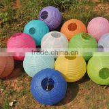 2016 Wholesale cheap paper lanterns Chinese round lanterns wedding paper lanterns
