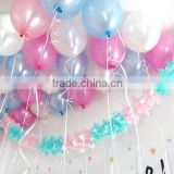 2016 new arrival fatory direct sell cheapest hot selling wedding decoration latex balloon